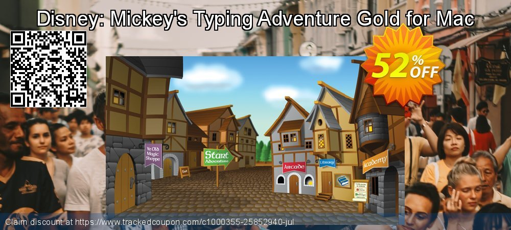 Disney: Mickey's Typing Adventure Gold for Mac coupon on Wildlife month offer