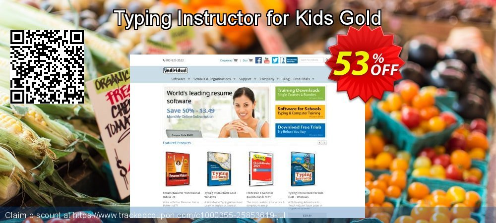 Typing Instructor for Kids Gold coupon on American Chess Day super sale