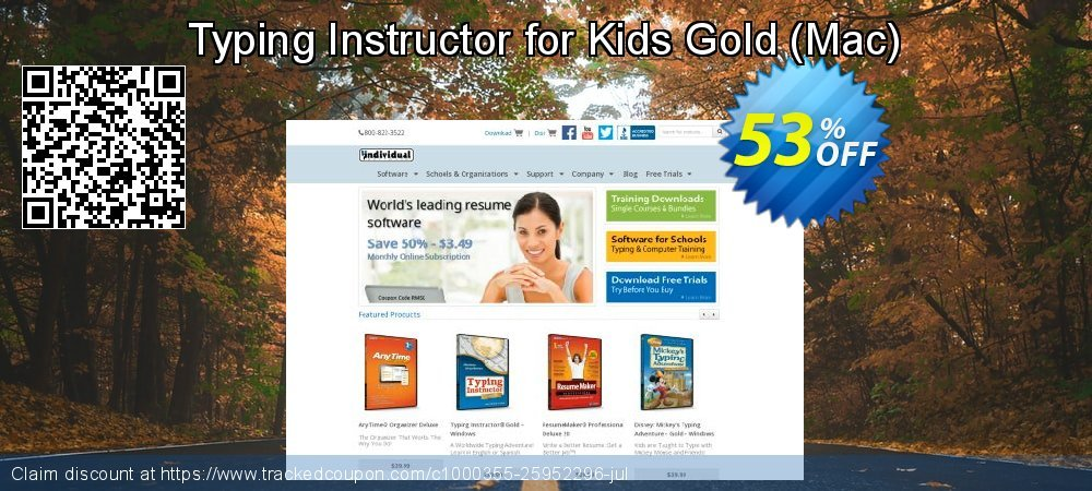 Typing Instructor for Kids Gold - Mac  coupon on National Family Day discounts