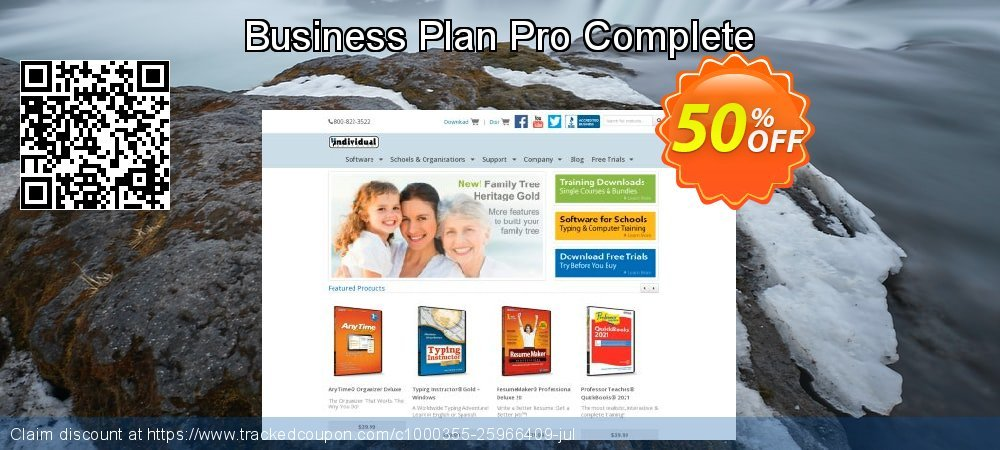 Business Plan Pro Complete coupon on College Student deals promotions