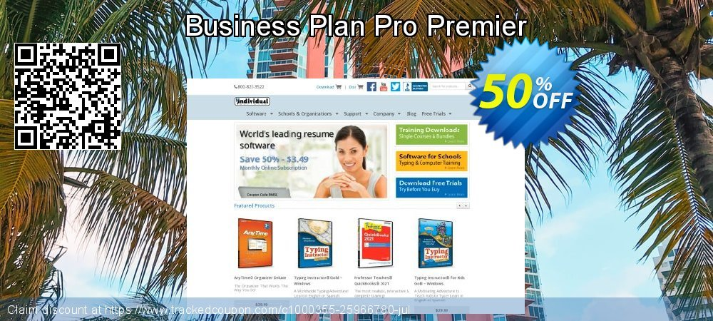 Business Plan Pro Premier coupon on University Student offer deals