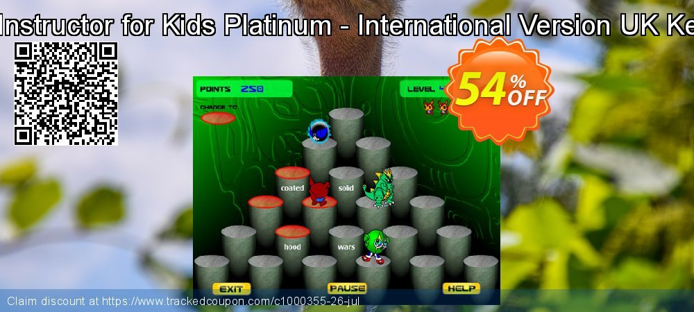Typing Instructor for Kids Platinum - International Version UK Keyboard coupon on Read Across America Day offering sales