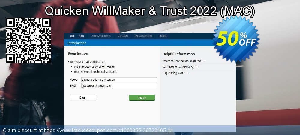 Quicken WillMaker & Trust 2020 - MAC  coupon on New Year's Day sales