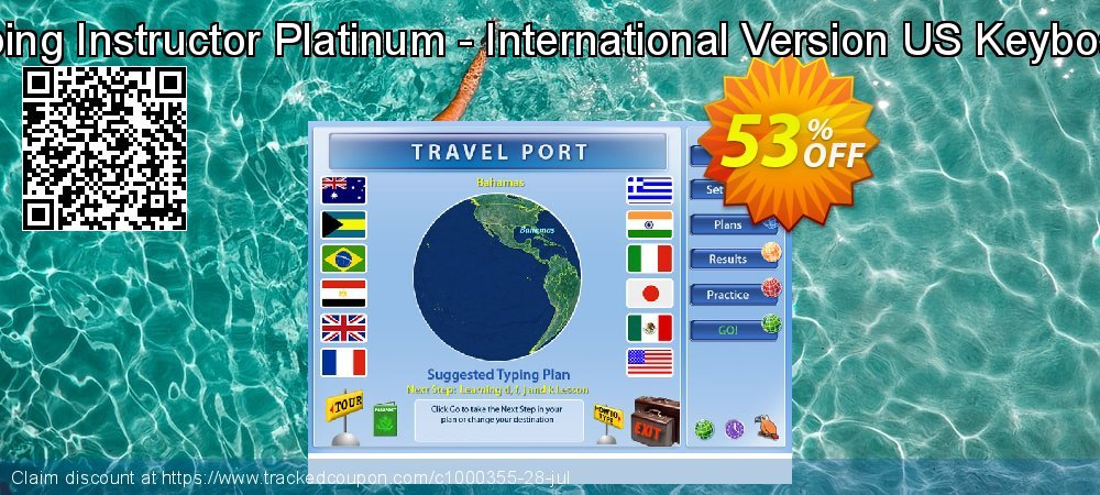 Typing Instructor Platinum - International Version US Keyboard coupon on Int'l. Women's Day discounts