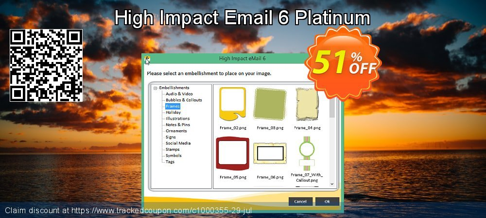 High Impact Email 6 Platinum coupon on World Bollywood Day offering sales
