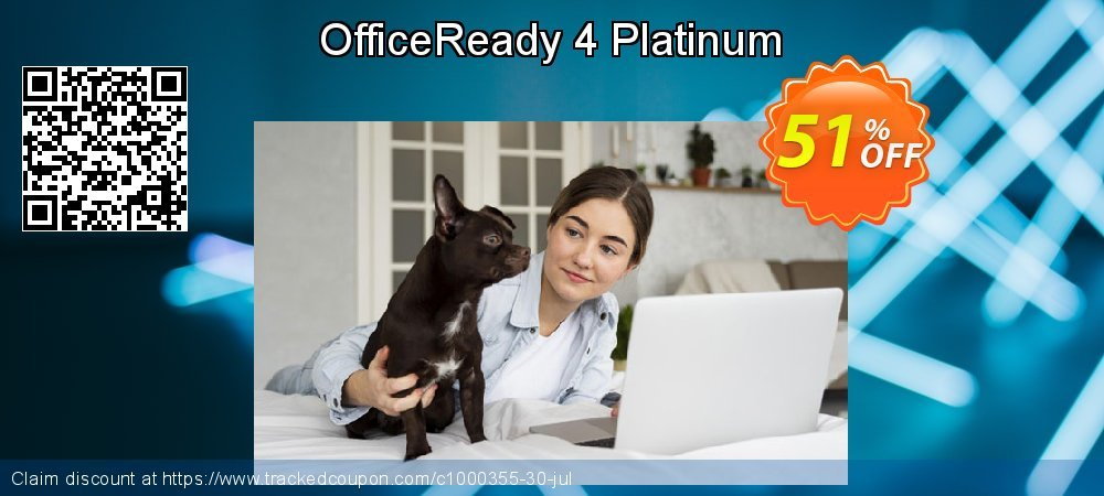 OfficeReady 4 Platinum coupon on Grandparents Day super sale