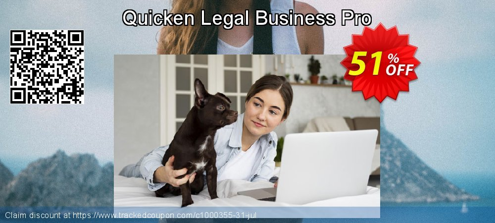 Quicken Legal Business Pro coupon on National Cleanup Day discounts