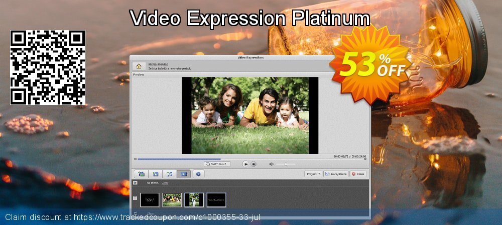 Video Expression Platinum coupon on IT Professionals Day sales