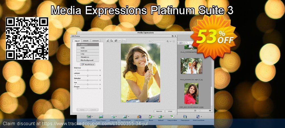 Media Expressions Platinum Suite 3 coupon on National Singles Day deals