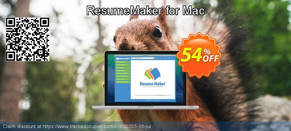 ResumeMaker for Mac coupon on National Coffee Day discount
