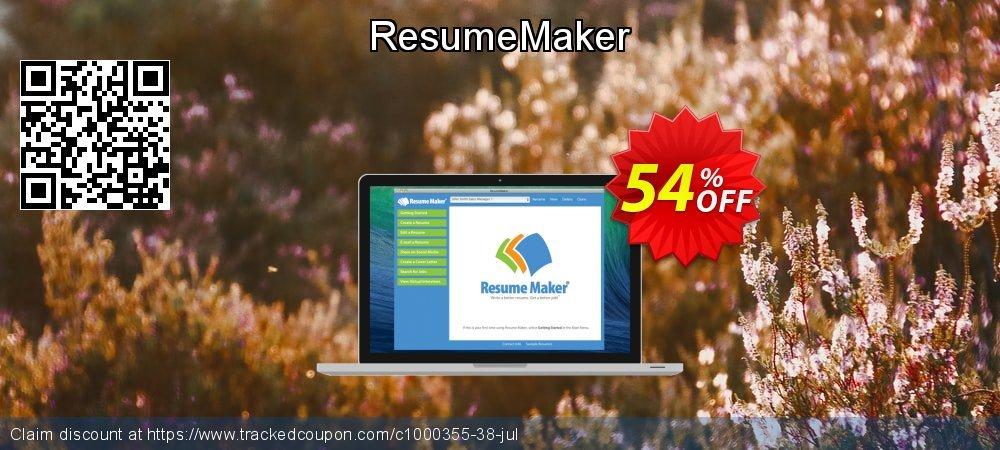 ResumeMaker coupon on Autumn offering sales