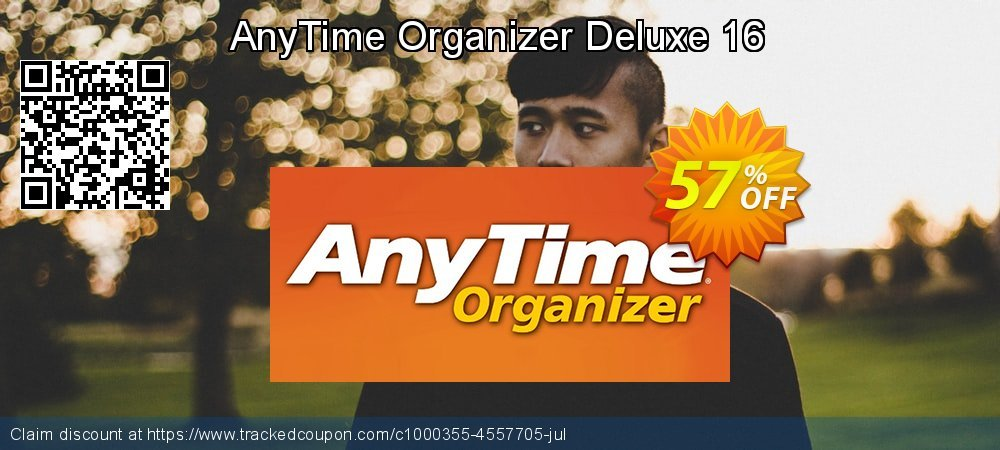 AnyTime Organizer Deluxe 16 coupon on Lazy Mom's Day sales