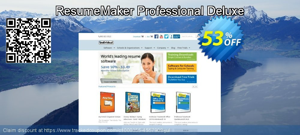 ResumeMaker Professional Deluxe coupon on Lazy Mom's Day super sale