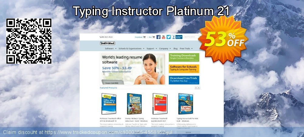 Typing Instructor Platinum 21 coupon on American Chess Day super sale