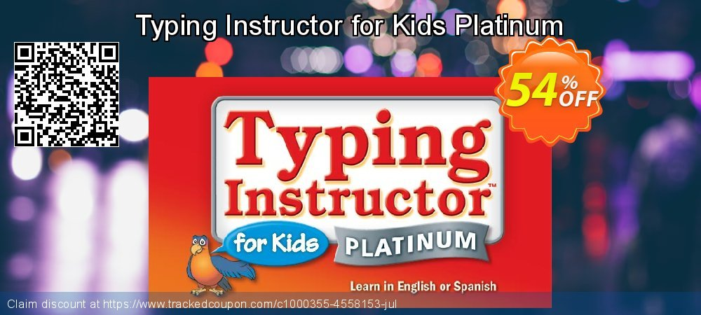 Typing Instructor for Kids Platinum coupon on All Saints' Eve promotions