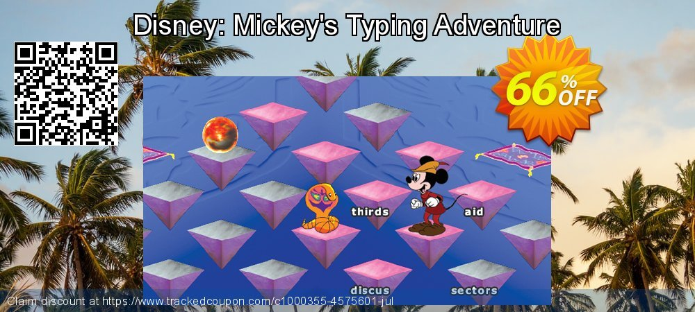Disney: Mickey's Typing Adventure coupon on Int'l. Women's Day discounts