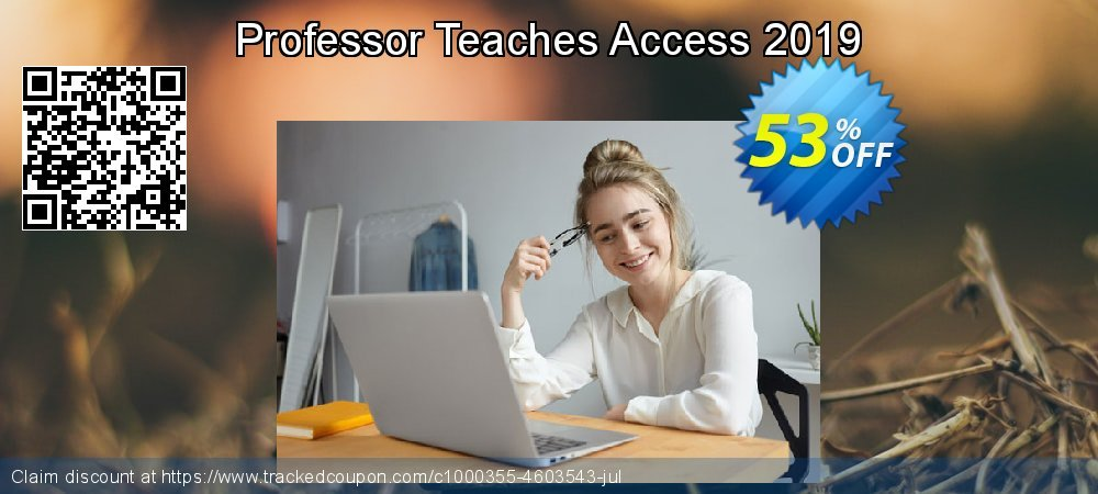 Professor Teaches Access 2019 coupon on American Chess Day deals