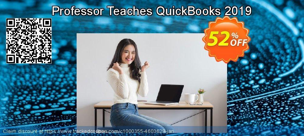 Professor Teaches QuickBooks 2019 coupon on Wildlife month super sale