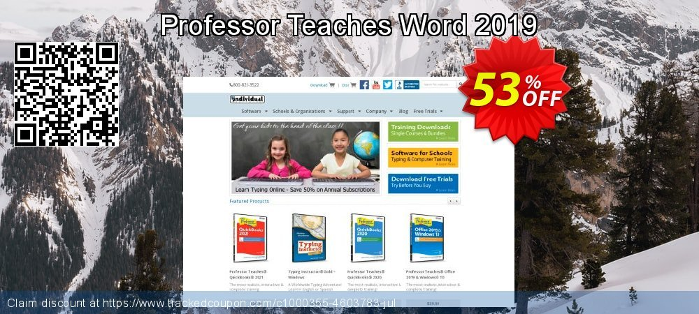 Professor Teaches Word 2019 coupon on Cheese Pizza Day discounts