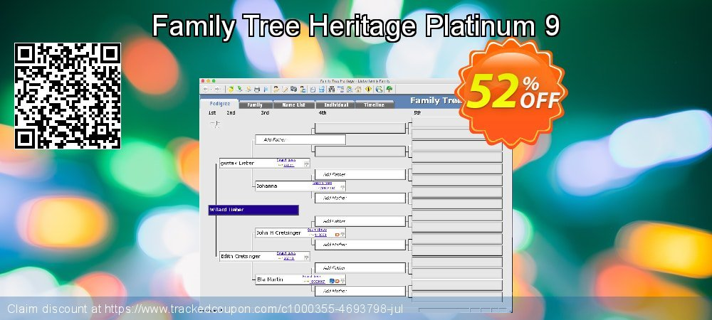 Family Tree Heritage Platinum 9 coupon on Cheese Pizza Day offering discount