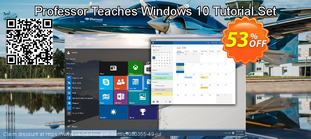 Professor Teaches Windows 10 Tutorial Set coupon on Talk Like a Pirate Day discounts