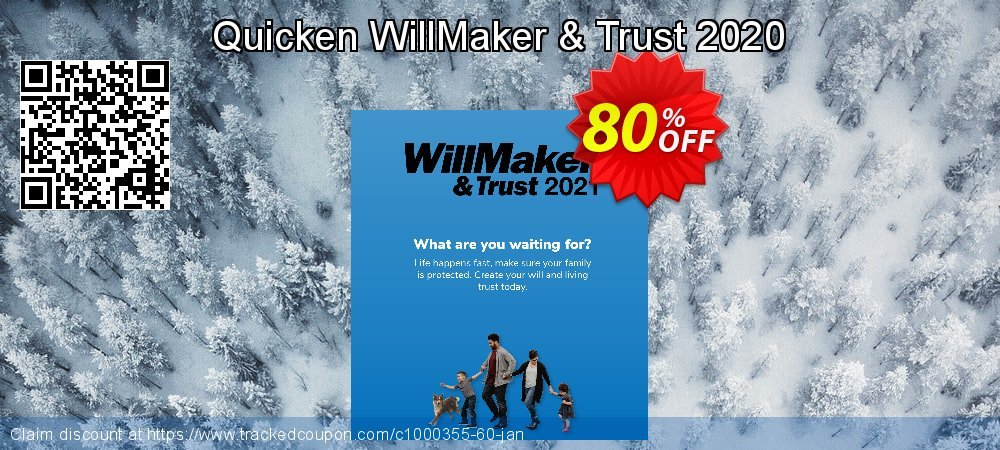 Quicken WillMaker & Trust 2021 coupon on New Year deals