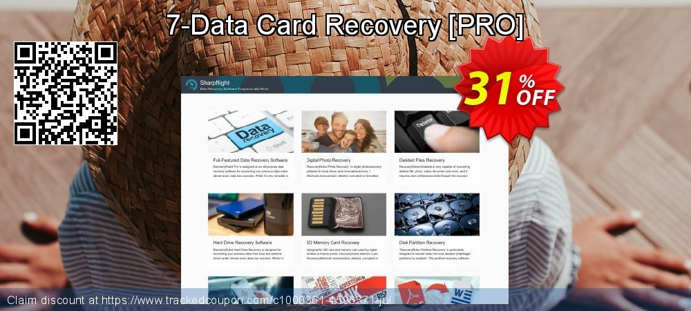Get 30% OFF 7-Data Card Recovery [PRO] promo