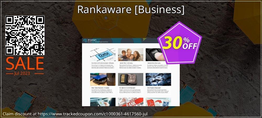 Get 30% OFF Rankaware [Business] offering sales