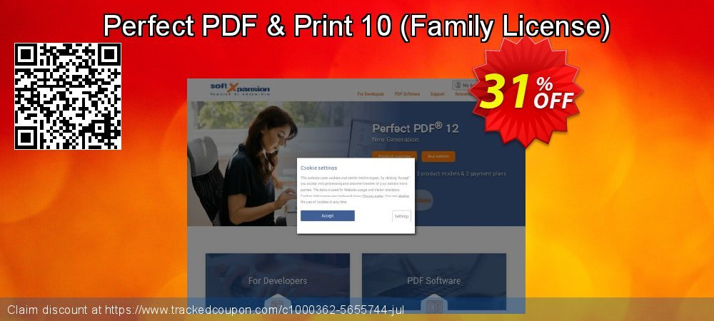 Get 30% OFF Perfect PDF & Print 10 (Family License) offering deals