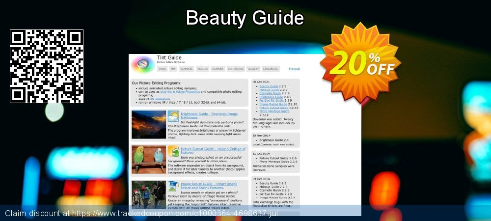 Get 20% OFF Beauty Guide promotions