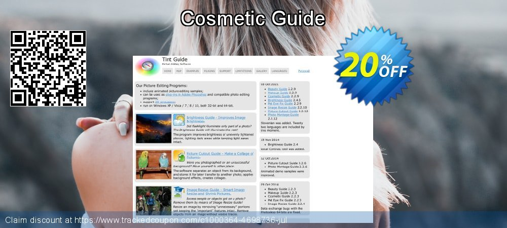 Cosmetic Guide coupon on New Year offer