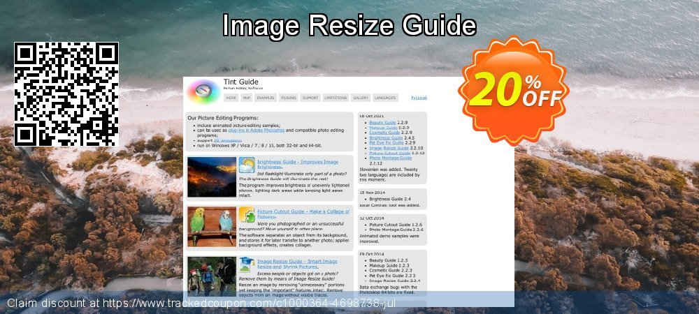 Get 20% OFF Image Resize Guide promo sales