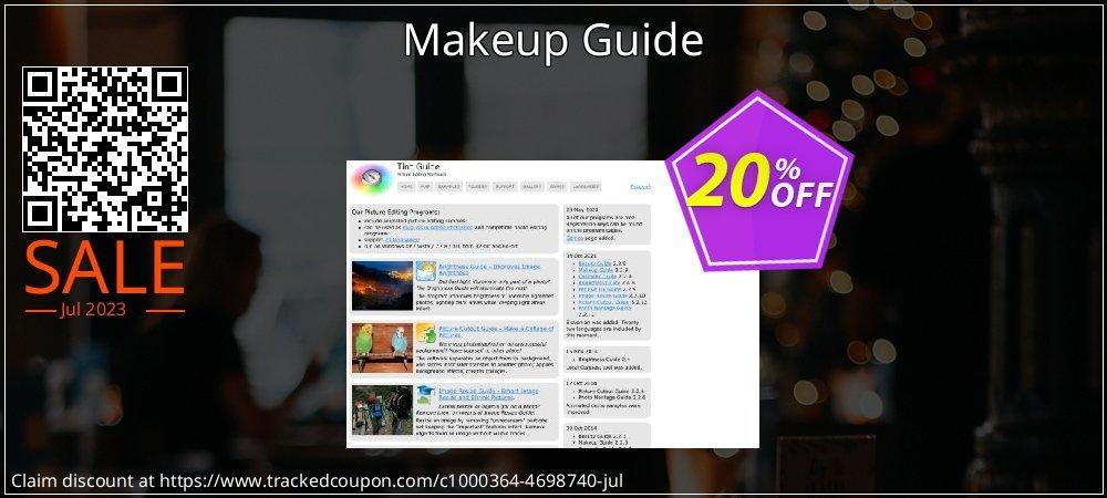 Get 20% OFF Makeup Guide promo sales