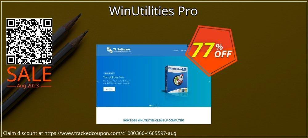 WinUtilities Pro coupon on Halloween discount