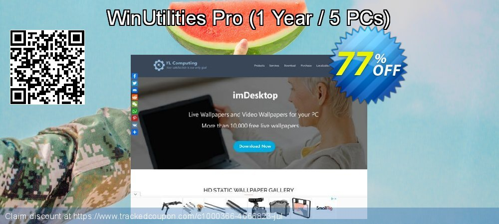 WinUtilities Pro - 1 Year / 5 PCs  coupon on Halloween offering sales
