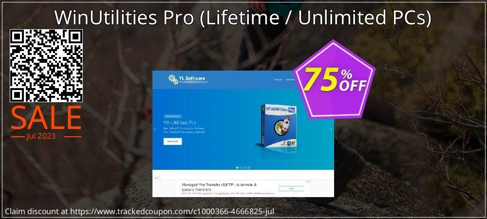 WinUtilities Pro - Lifetime / Unlimited PCs  coupon on Halloween discounts
