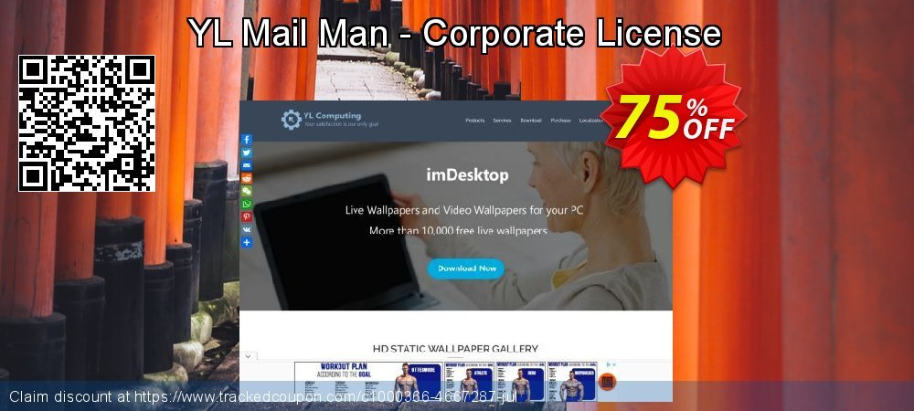 YL Mail Man - Corporate License coupon on Halloween deals