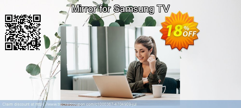 Get 10% OFF Mirror for Samsung TV offering sales