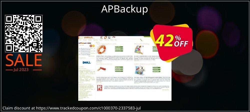 APBackup coupon on Teacher deals offering discount