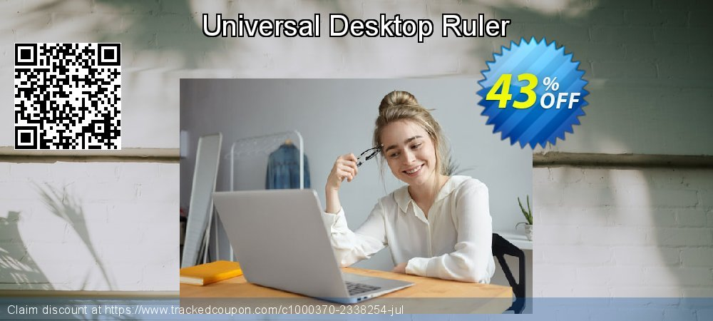 Get 30% OFF Universal Desktop Ruler offering sales