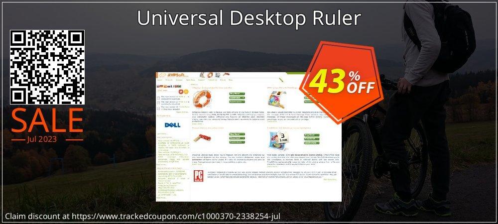 Get 40% OFF Universal Desktop Ruler offer