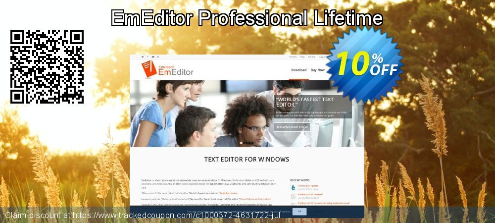EmEditor Professional Lifetime coupon on Halloween deals