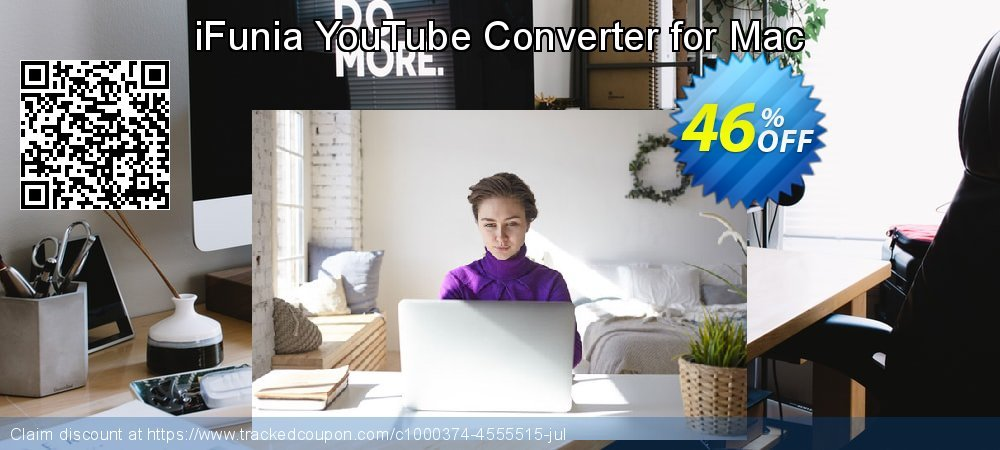 Get 40% OFF iFunia YouTube Converter for Mac offering discount