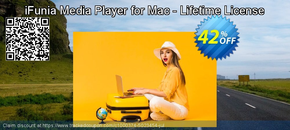 Get 42% OFF iFunia Media Player for Mac - Lifetime License offering sales