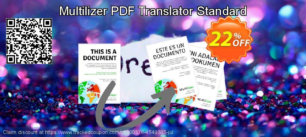 Multilizer PDF Translator Standard coupon on Natl. Doctors' Day discount
