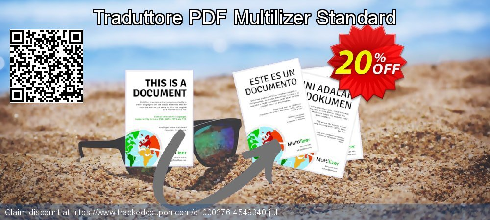 Traduttore PDF Multilizer Standard coupon on Read Across America Day offer