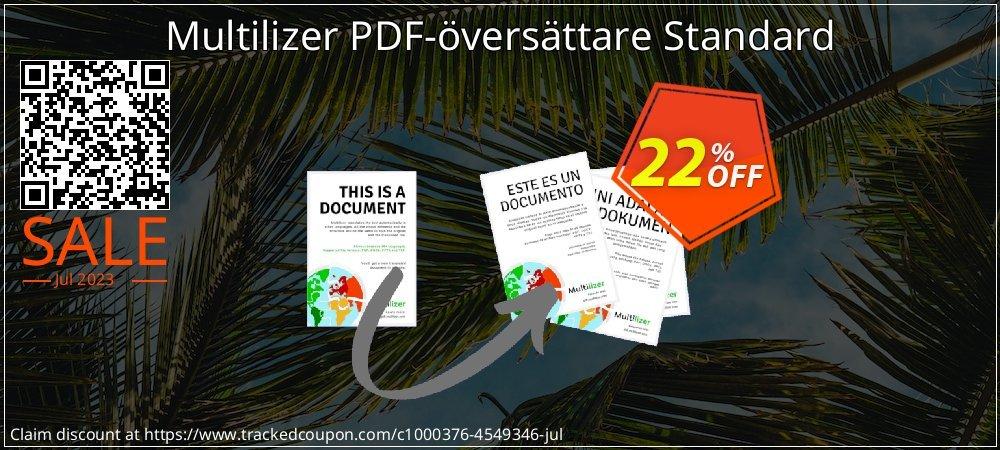 Multilizer PDF-översättare Standard coupon on  Lover's Day discounts