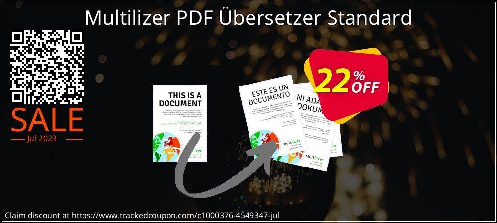 Multilizer PDF Übersetzer Standard coupon on Super bowl promotions