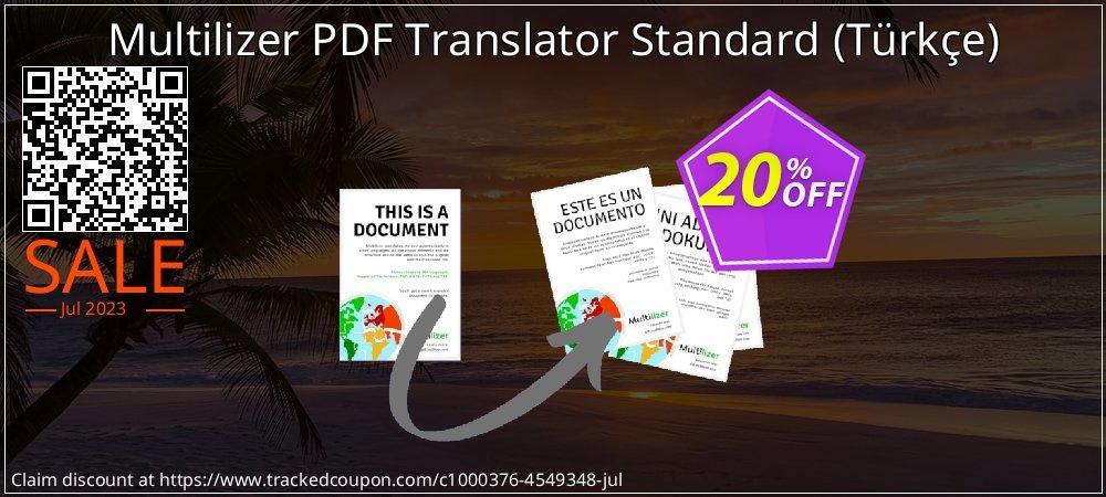 Multilizer PDF Translator Standard - Türkçe  coupon on Valentines Day sales