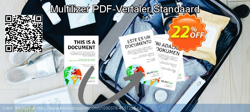 Multilizer PDF-Vertaler Standaard coupon on  Lover's Day discount